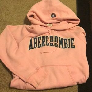 Light pink Abercrombie hoodie